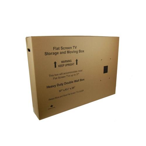 """Small Flat Screen TV Box; 37"""" x 6.5"""" x 25"""""""