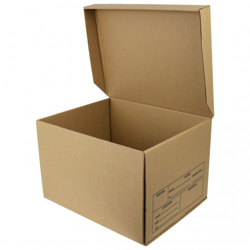 "File Box w/ Attached Lid; 15"" x 12"" x 10"", 300/Skid"