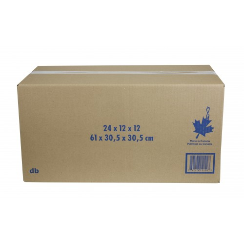 "Storage Box w/ Handles; 24"" x 12"" x 12"", 25/Bundle, 250/Skid"