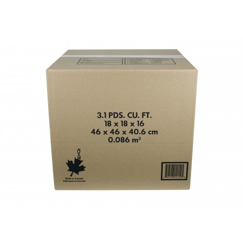 "3.1 Cu./FT Box; 18"" x 18"" x 16""; 10/Bundle, 130/Skid"