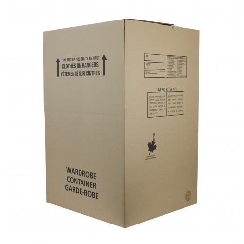 """Small Wardrobe Box; 24"""" x 21"""" x 36"""", DW"""