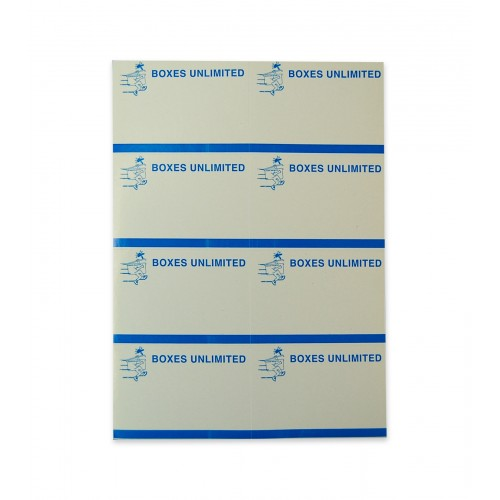 Removable Labels, 8/Sheet, 500/Pack