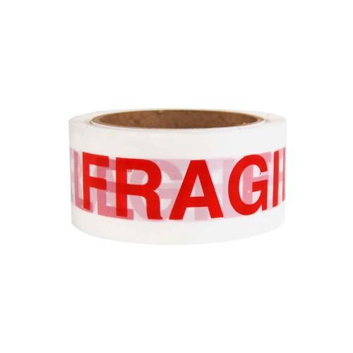 Fragile Tape 48MM x 50M; 12RL/Case (RETAIL PKGD)