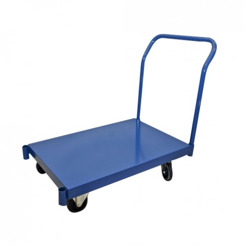 "Flat Deck Steel Cart, 24"" x 36"""