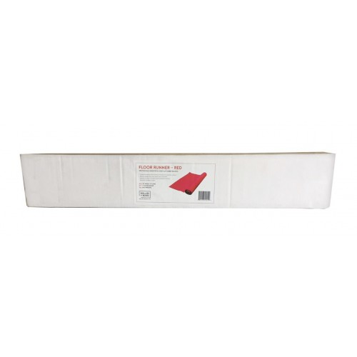 "Floor Runner RED - 27""x15', Boxed"