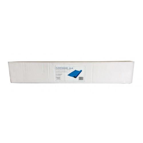 """Floor Runner BLUE - 27""""x15', Boxed"""