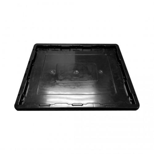 Plastic Bin Lid (Black)